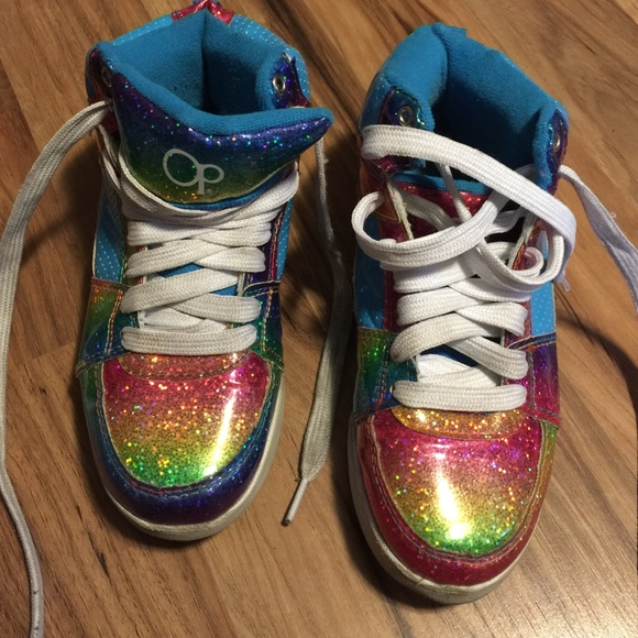 OP rainbow girl sneakers  shoes gym shoes. M 56db66462ba50a1ae703f49d 9fb2d4ed5