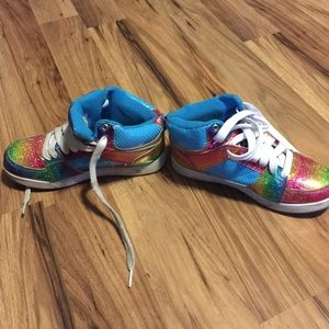 440809562b18 Op Shoes - OP rainbow girl sneakers  shoes gym shoes
