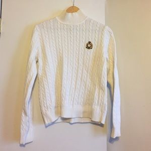 Ralph Lauren Classic white sweater