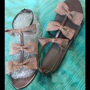 Kurt Geiger Shoes - SALE! K.G. KURT GEIGER Suede Sandals 9-9.5