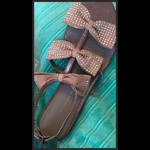 Kurt Geiger Shoes - CUT in 1/2!! K.G. KURT GEIGER Suede Sandals 9-9.5