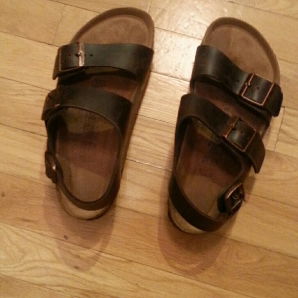 Birkenstock Milano Amalfi Leather with Soft Footbed EedWFw