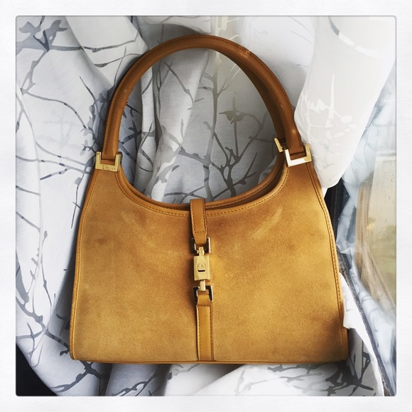 eec04b36afa Gucci Handbags - Vintage Gucci Jackie O Small Hobo