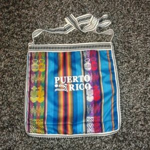 Puerto Rico hobo tote bag