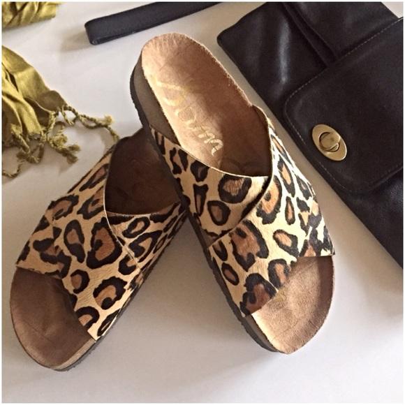 dc736335ecff Sam Edelman Adora leopard slide sandals