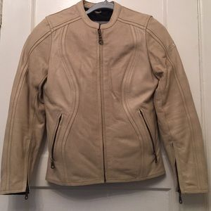 Bilt Jackets & Blazers - Leather real motorcycle jacket with padding