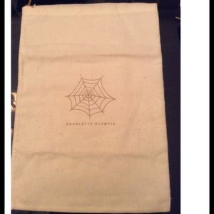 Charlotte Olympia Accessories - Charlotte Olympia Drawstring Dust Bag