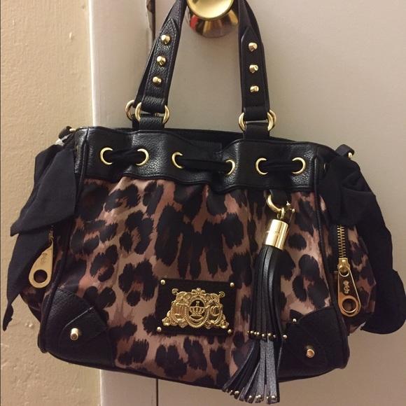 Juicy couture cheetah print purse abb79c88414e