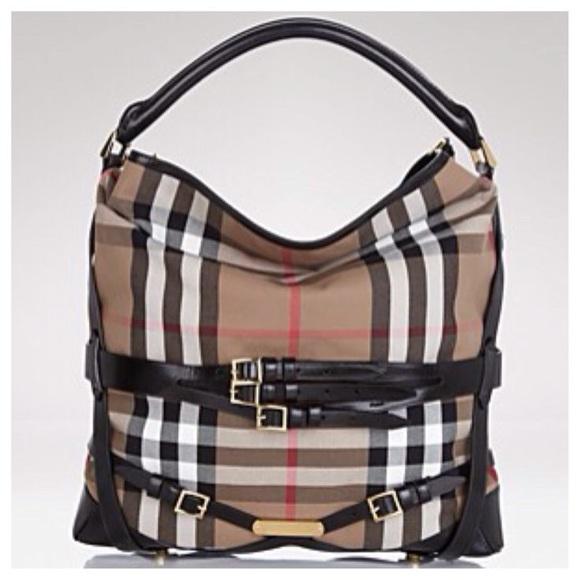 Burberry Bags | Big Sale Bridle Gosford Hoboblack | Poshmark