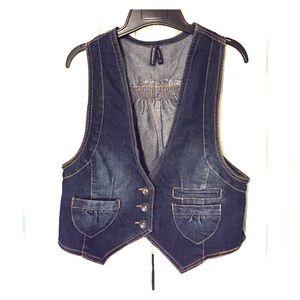 Highway Jeans Jackets & Blazers - HIGHWAY JEANS Denim Vest