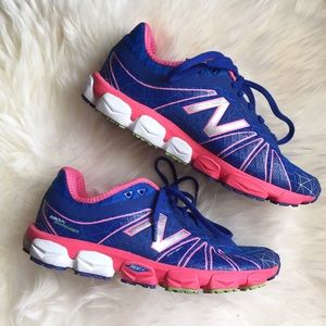New Balance Shoes - New Balance Blue/Pink Running Shoe