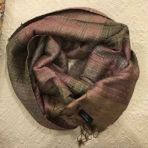 62 off accessories jim thompson raw silk wrap from for Thai silk jim thompson