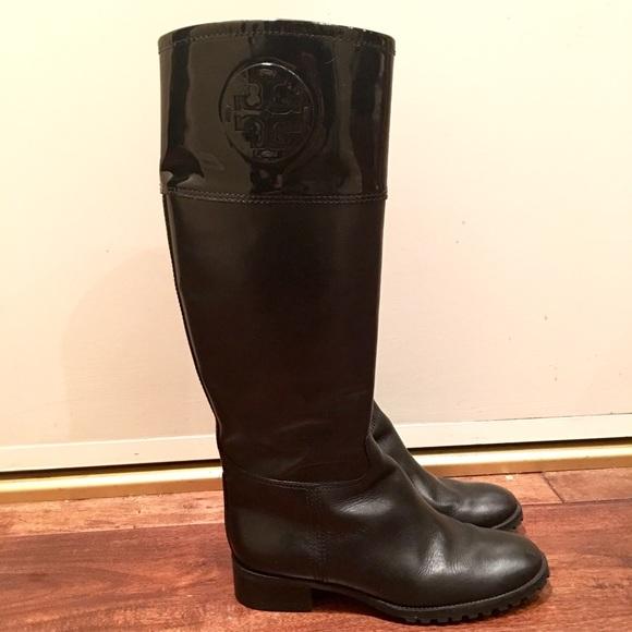 91297b3ac ... greece tory burch jackson leather riding boots 4cdd6 631cd