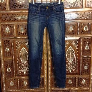 American Eagle Outfitters Denim - Faded skinny jeans/jeggings