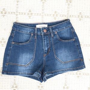 NEW Forever21 high waist summer denim shorts