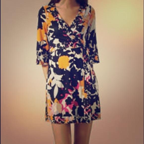 Sale Enjoy Sale Outlet Store Diane von Furstenberg Renny Silk Dress FCwgkPO4My