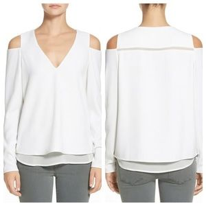 cooper & ella Tops - Cooper & Ella Kayla Open Shoulder blouse