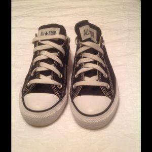 Converse-Black. Womens size 6.