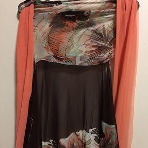Jean Paul Gaultier Dresses & Skirts - kimono Koi-Fish Wrap Dress JEAN PAUL GAULTIER XS/S