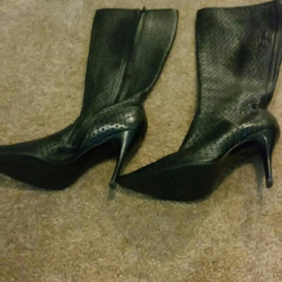 60 bcbg shoes black knee high boots from portia s
