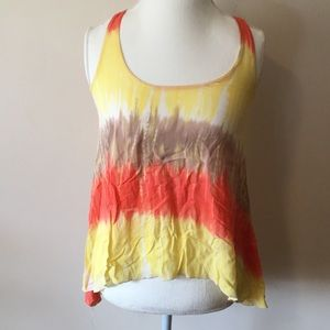 Fun Tye Dye High Low Tank
