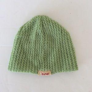 Diesel Green Knit Hat