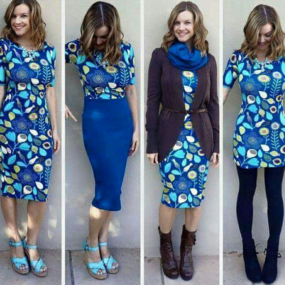 LuLaRoe Dresses - NWT Lularoe Julia Dress