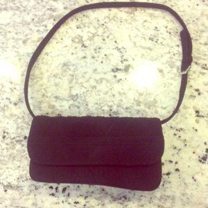 Vera Bradley purse- black quilted