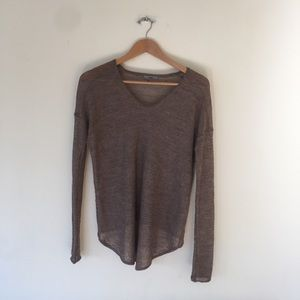 Helmut Lang Long Sleeve Sweater S/P