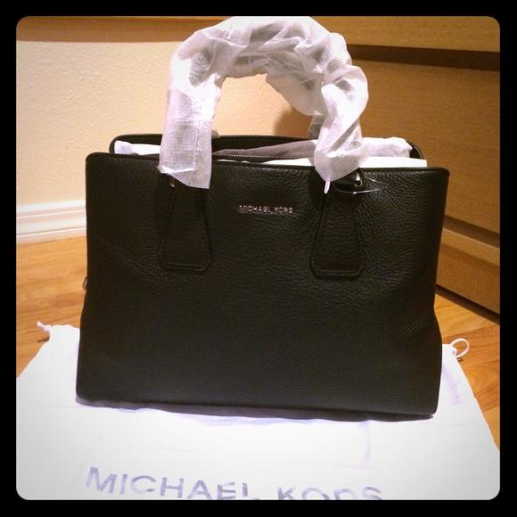 d006d326dad6 Michael Kors Camille Large Leather Satchel ...