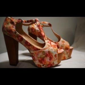 Jeffrey Campbell T-strap sandal