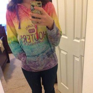 Sweaters - Tie dye hooters hoodie
