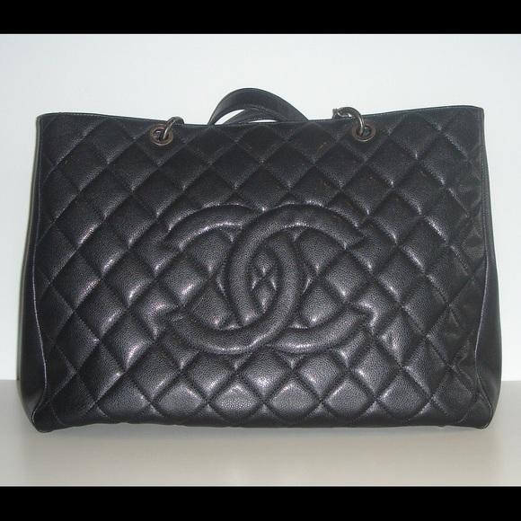 7e8bf78bda4d CHANEL Handbags - CHANEL Classic Caviar Black XXL GST