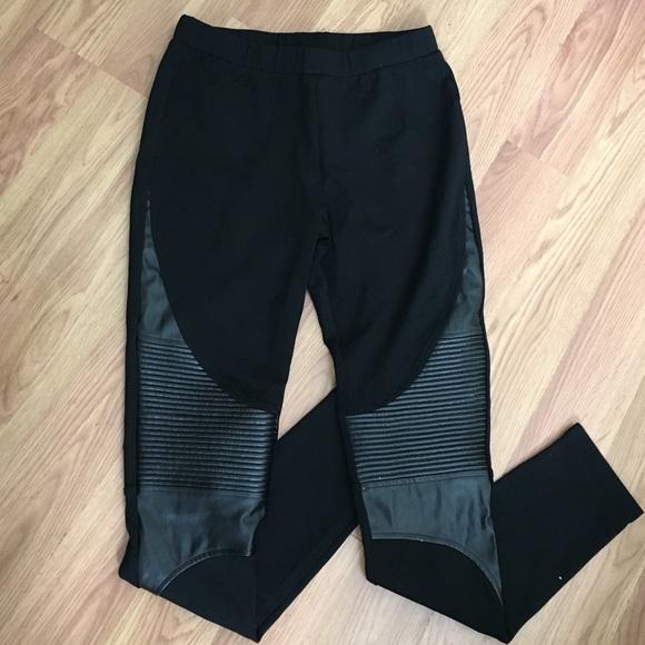 69% off Romeo & Juliet Couture Pants - faux leather moto leggings ...