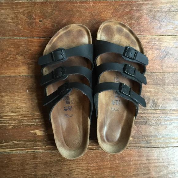 e9cad9e7acbb Birkenstock Shoes - Birkenstock Florida Soft Footbed Sandals