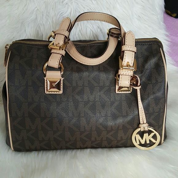 Michael Kors Bags   Mk Speedy Bag Like New   Poshmark 81ed2e996e