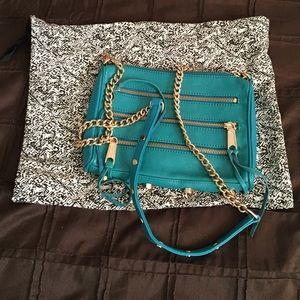 Rebecca Minkoff teal bag