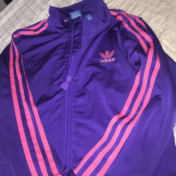 23% off Adidas Sweaters - Pink and purple adidas sweater from ...