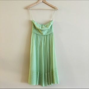 J. Crew Dresses & Skirts - J.Crew pastel green silk dress
