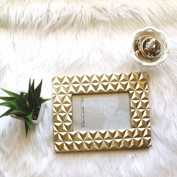 Max Studio Other | Gold 4x6 Picture Frame | Poshmark