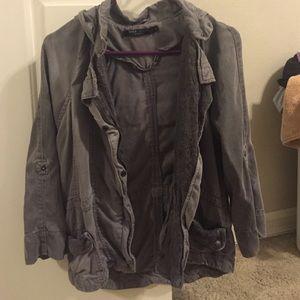 Grey cargo jacket!