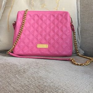NWT Marc Jacobs quilted leather crossbody bag