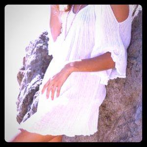 Beach cover up summer dress