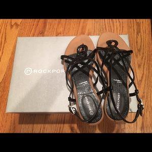 Rockport Nahara Strap Sandal - Black