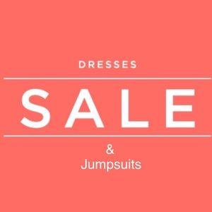 All dresses and Jumpsuits ⤵️ easy 1 piece outfits!