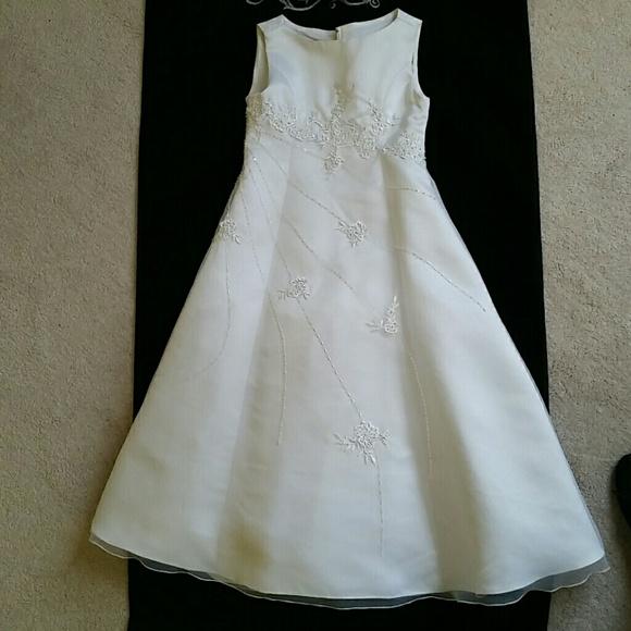 The Ladybug Collection Dresses Stunning Girls White Formal Dress