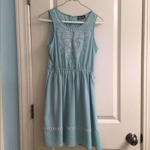 Maude fit and flare dress