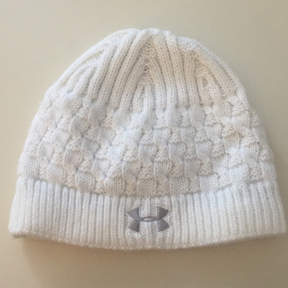 013020b9a White under armour Winter hat
