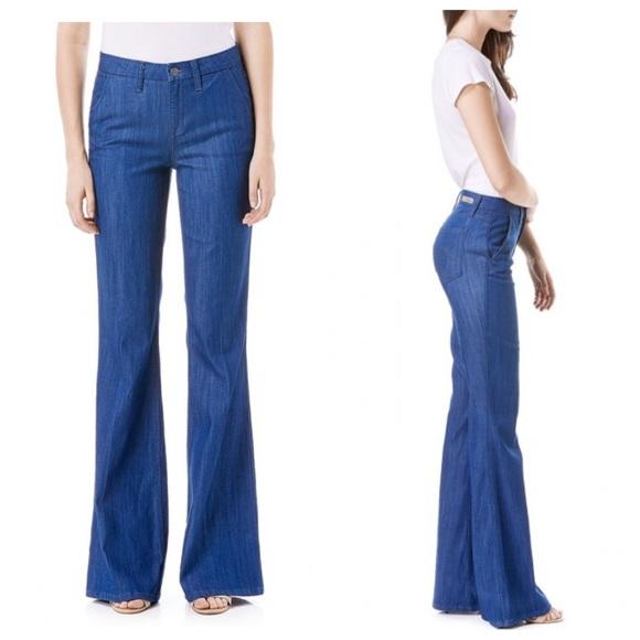 69% off Anthropologie Denim - Level 99 Tanya high rise flare jeans ...