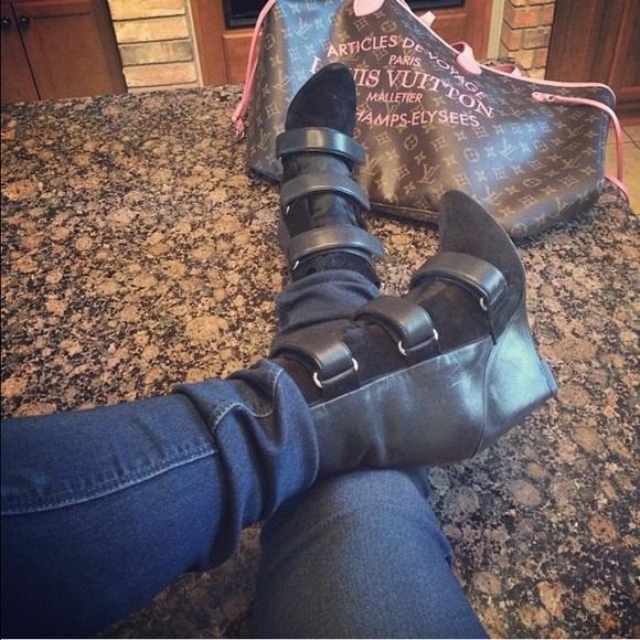 7744af1d7581f Isabel Marant Shoes | Scarlet Pony Hair Booties | Poshmark